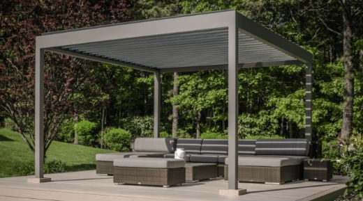 Louvered Roof Garden Canopy by Lanai Outdoor Living