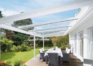 Glass Roof Veranda
