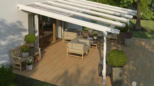 house glass veranda