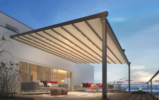 retractable garden canopy