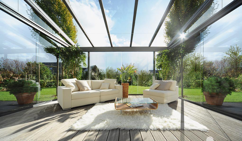 glass rooms  the ultimate contemporary living space from