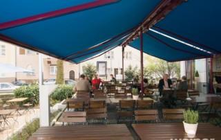 restaurant canopies awnings verandas