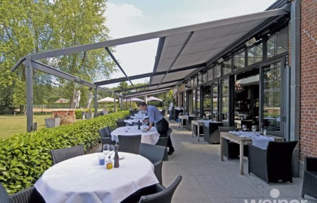 restaurant canopies awnings verandas