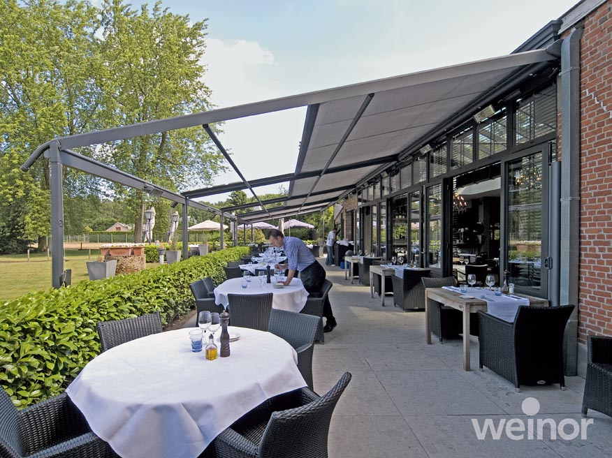 restaurant canopies awnings verandas & Commercial Glass Rooms Canopies u0026 Awnings from Lanai Outdoor Living