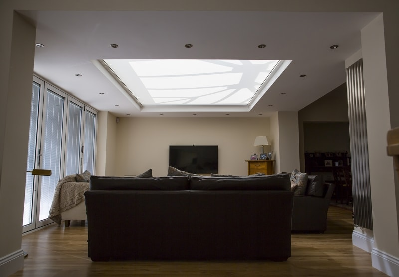skylight roof blind