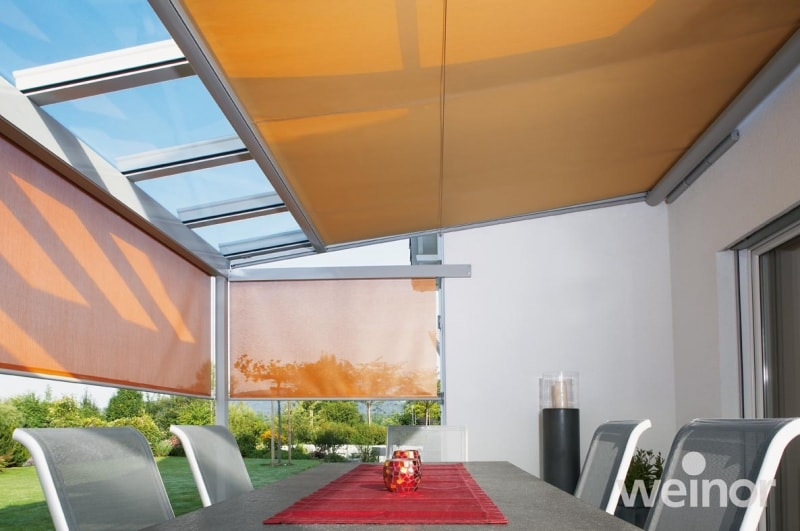 conservatory awnings orange