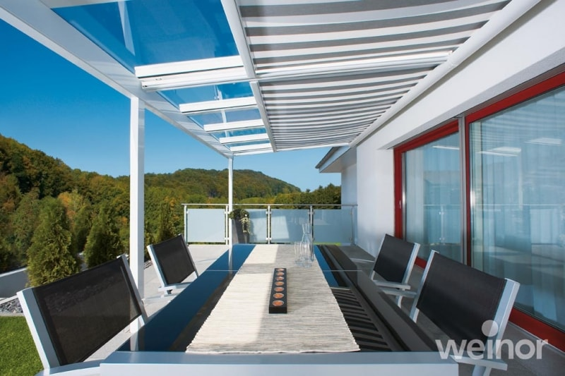 Roof Blinds Awnings For Use With Glass Roof Verandas And Glass Rooms By Lanai