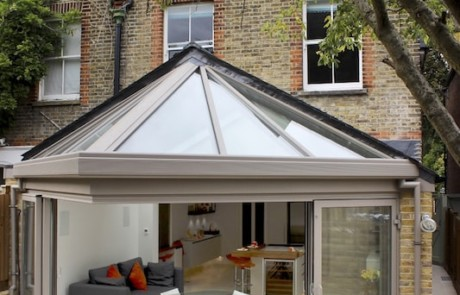 glass room extension