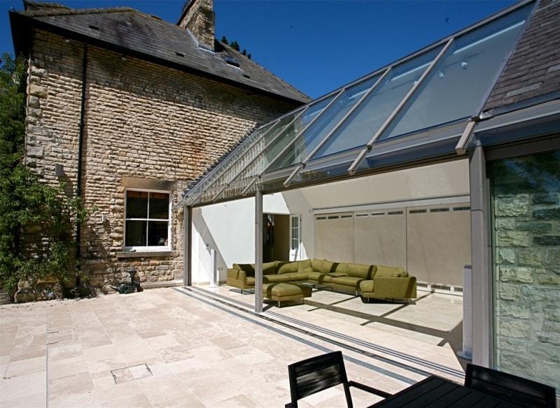 Lanai outdoor living glass rooms verandas canopies for Lanai extension