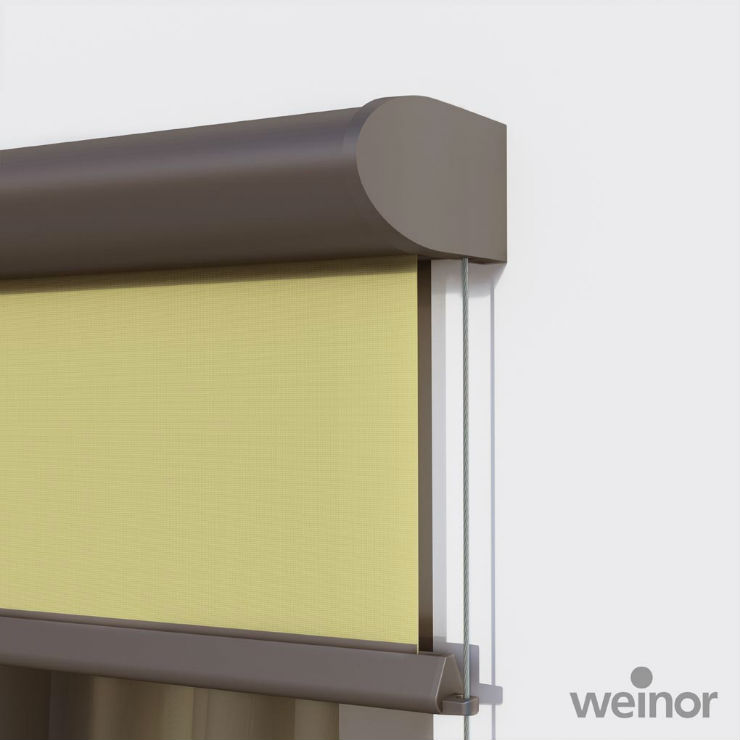 The Fabric And Technology Are Both Housed In One Miniature Delicate Cassette But Are Still Capable Of Shading Large Areas Window Blinds