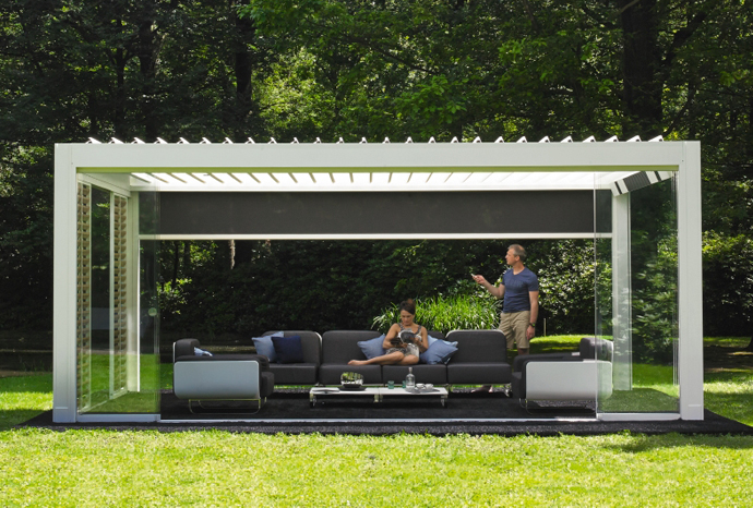 renson louvered roof