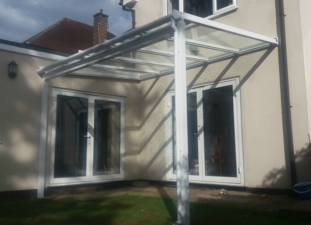 Verandas With A Glass Roof Supplied Amp Installed By Lanai