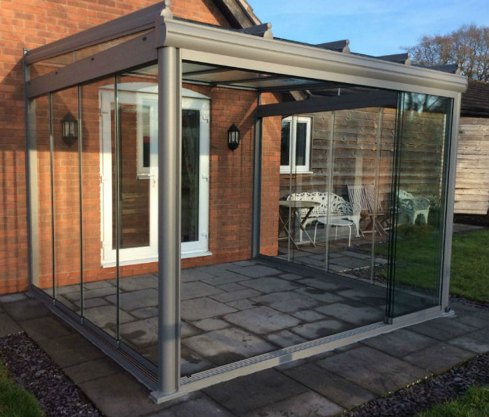 Worcestershire archives glass rooms verandas canopies for Lanai extension